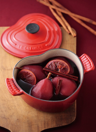 Braad- en stoofpan in hartjesvorm