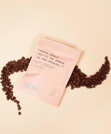 Scrub op basis van koffiebonen (200g)