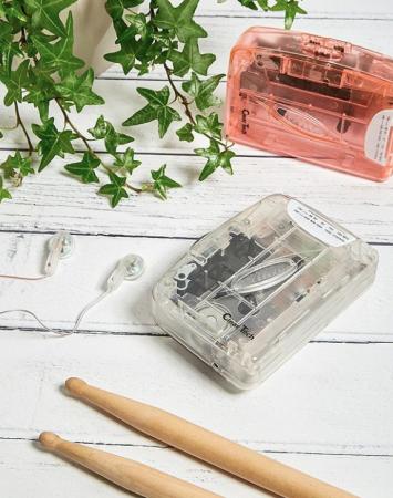 Un lecteur de cassettes délicieusement rétro