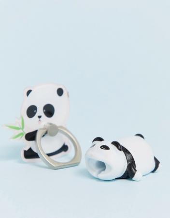Panda phone ring & cable bite