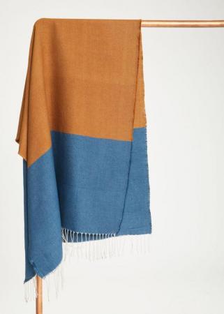 Sjaal van gerecycleerd polyester