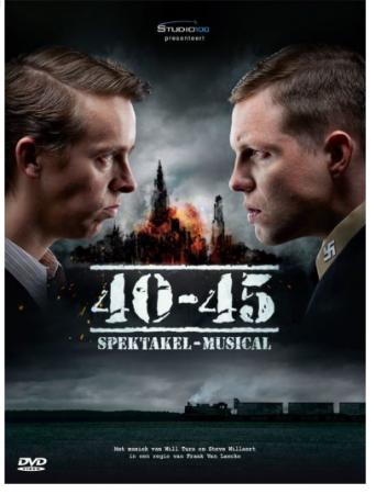 Dvd van spektakelmusical '40-45′