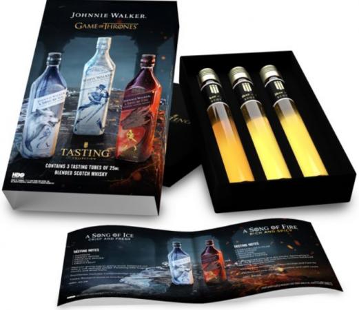 Tasting van 'Game of Thrones'-whisky