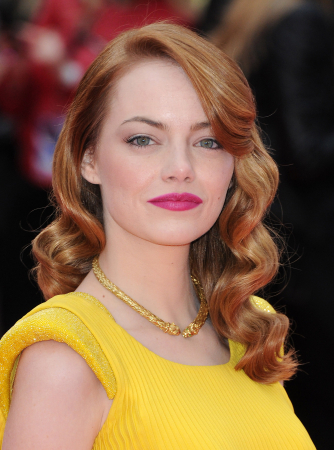 Glamour krullen zoals Emma Stone