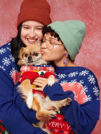 Matching kersttruien voor jou en je hond