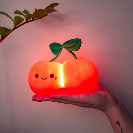 Kersenvormig nachtlampje