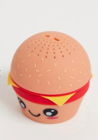 Blue-toothspeaker in de vorm van een hamburger