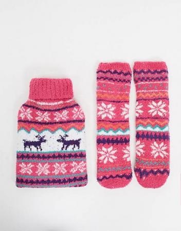 Warmtekruik en sokjes voor in bed
