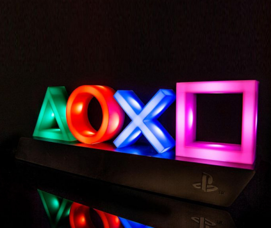 Playstationlampjes