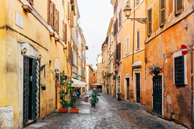 Maagd (24 augustus t/m 23 september) – Rome, Italië