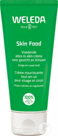 Julia Roberts smeert steevast Skin Food van Weleda tijdens de wintermaanden