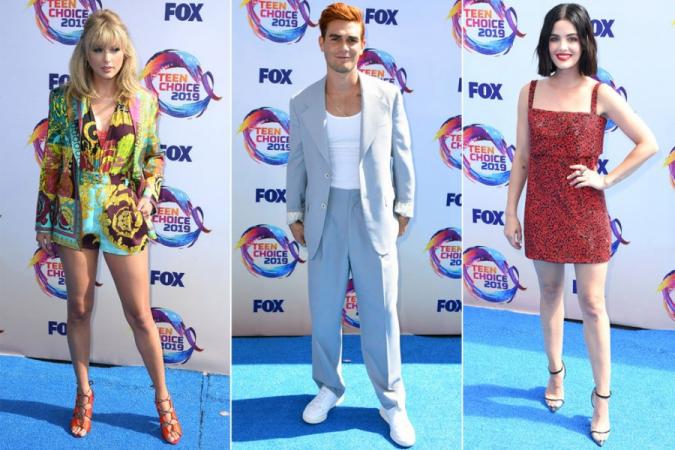 8.ZIEN: in deze outfits schitterden de celebs op de Teen Choice Awards