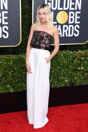 Margot Robbie op de Golden Globes