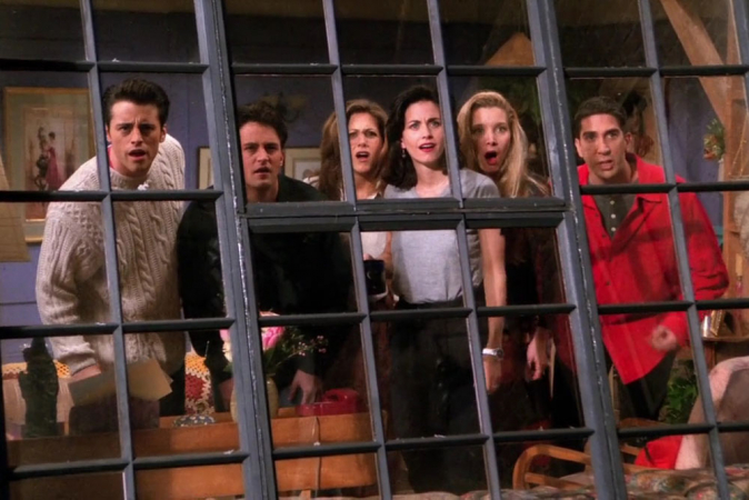 12. Friends (10 seizoenen)