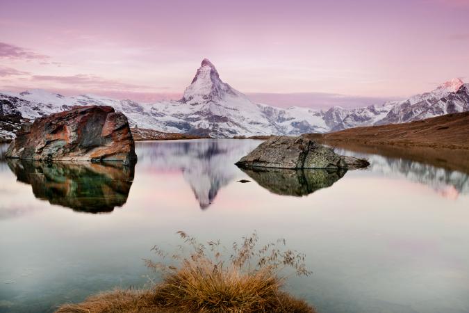 De Matterhorn, Zwitserland