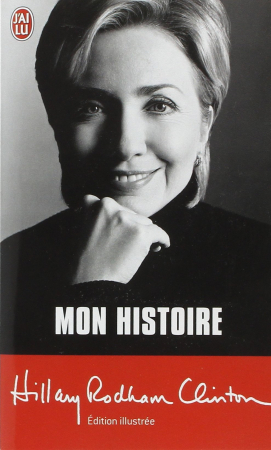 """2. """"Mon histoire"""" – Hillary Rodham Clinton"""