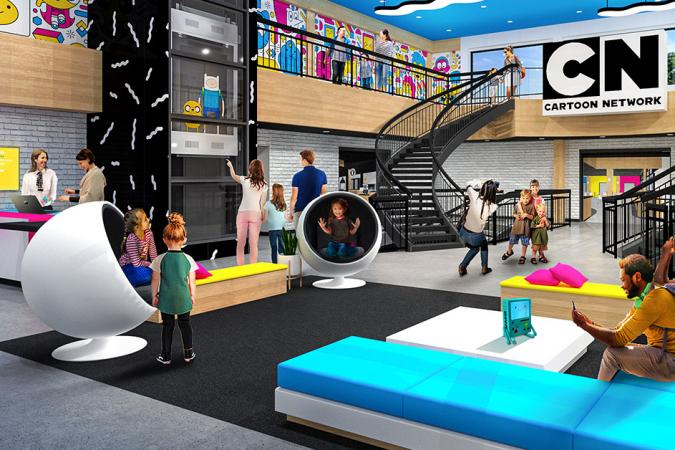 Ga spelen in het Cartoon Network Hotel