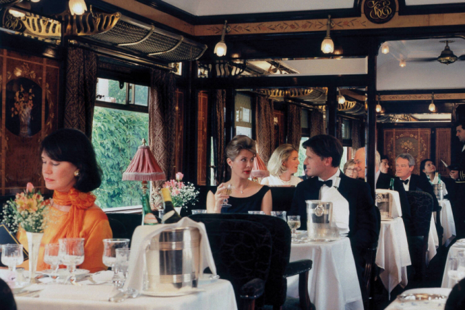 Ga aan boord van de Orient Express