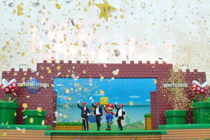 Leef je uit in het 'Super Nintendo World'-themapark