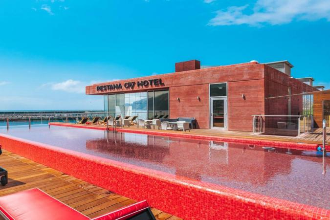 Verblijf in het hotel van Christiano Ronaldo