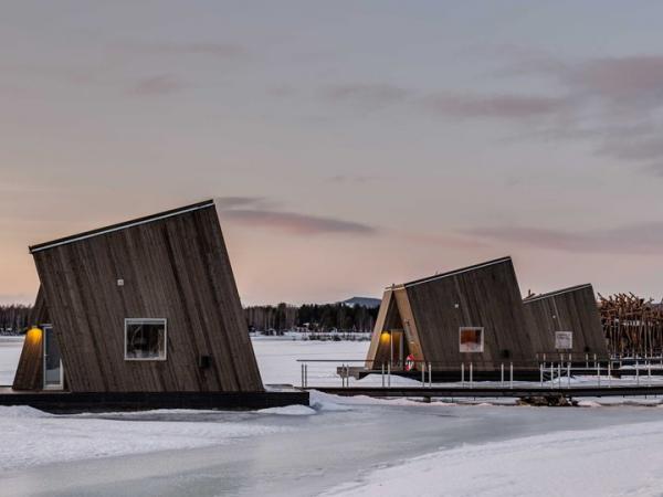 Ontspan in een Arctic Bath in Zweden