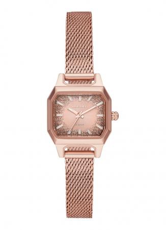 Horloge in roségoud
