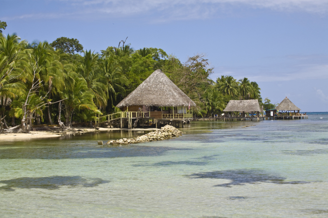 L'Isla Caranero, Panama