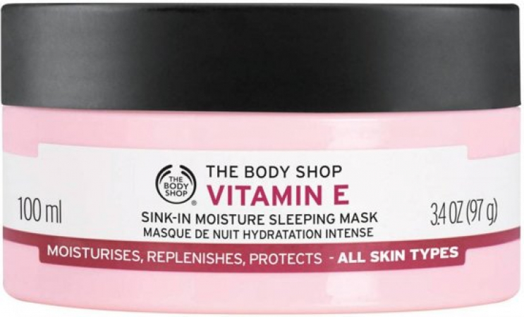 Vitamin E Moisture Sleeping Mask van The Body Shop