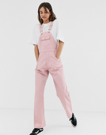 Roze overall