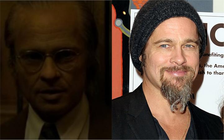 Brad Pitt dans L'<b>Étrange</b> Histoire de Benjamin Button