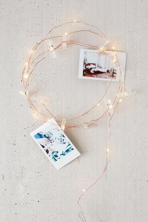 Lampjes + clips voor foto's