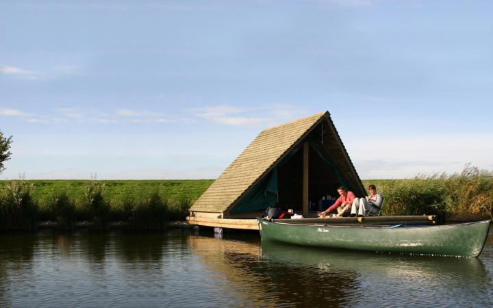 Radeau flottant à Dilsen-Stokkem
