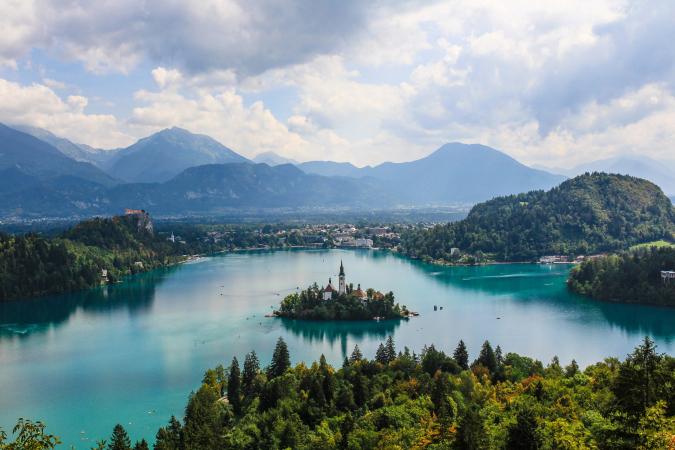 Gorenjska, Slovénie