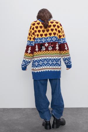 Kleurrijke trui