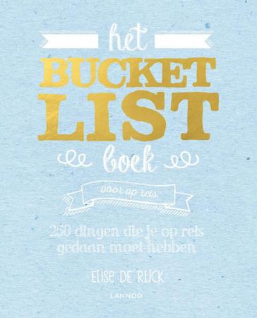 'Het bucketlist boek voor op reis' van Elise de Rijck