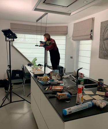 De keuken van redactrice Robine als ze een recept uitprobeert voor Zon(dig)dag, elke week op Flair.be.