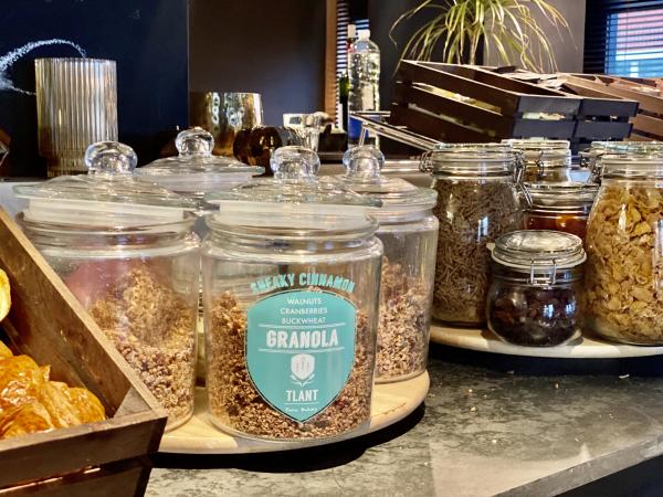Uitgebreid aanbod aan granola en cornflakes