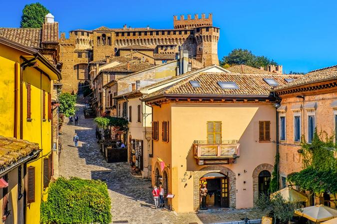 Gradara, Italië