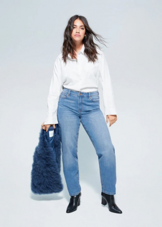Jeans met relaxed fit