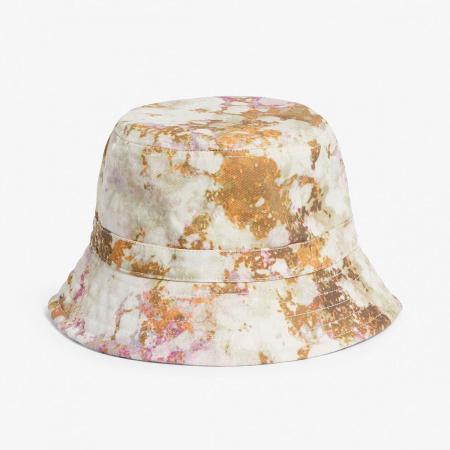 Bucket hat met <em>acid wash print</em>