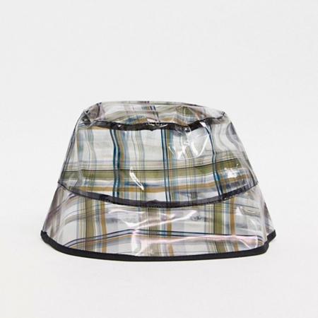 Doorzichtige bucket hat
