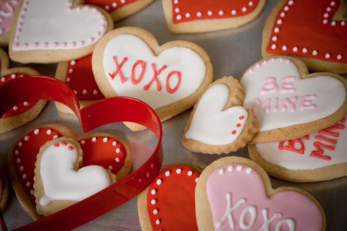 Valentijnskoekjes
