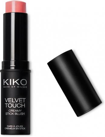 Velvet Touch Creamy Blush Stick in 03 Coral Rose van Kiko Milano