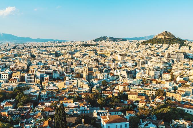 Le Marathon d'Athènes, en Grèce