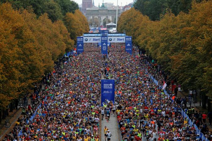 Le Marathon de Berlin, en Allemagne