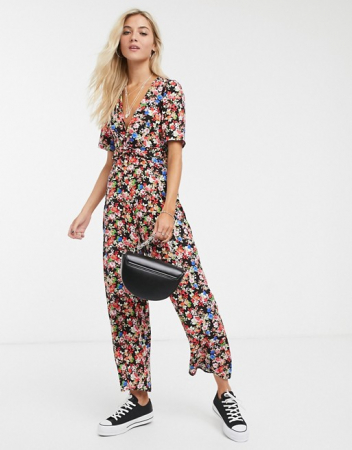 Jumpsuit in bloemenprint