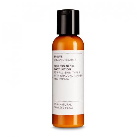 Evolve, un autobronzant organique au parfum délicieux