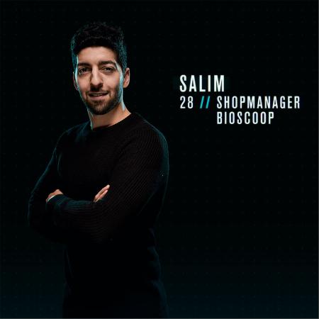 Salim (28) uit Mechelen
