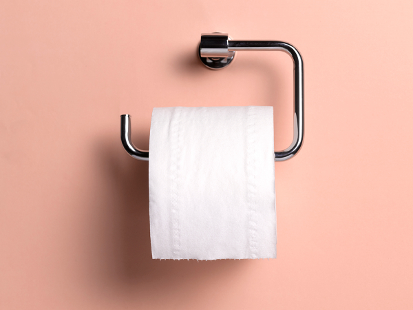 Papier toilette : 2 semaines à 1 mois