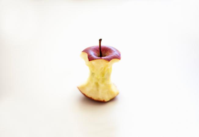 Trognon de pomme : 1 à 5 mois